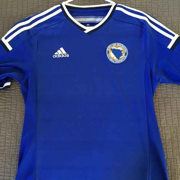 Herzegovina Adidas Poshmark Bosnia Jersey Shirts Authentic 7SxxEgpq